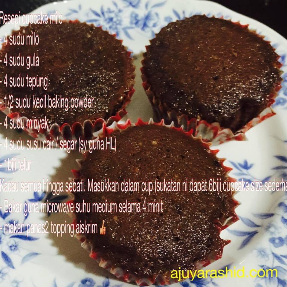 Cupcake Milo 4 Minit Blog Umi Anak 5