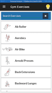 Gym Exercises & Workouts - screenshot 5