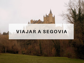 viajar a Segovia España