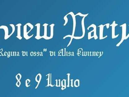 Review Party - Regina di Ossa di Alisa Kwitney