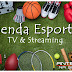 Agenda esportiva da Tv  e Streaming, segunda, 05/07/2021