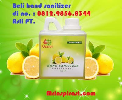 Cara Memakai Hand Sanitizer yang baik dan Benar