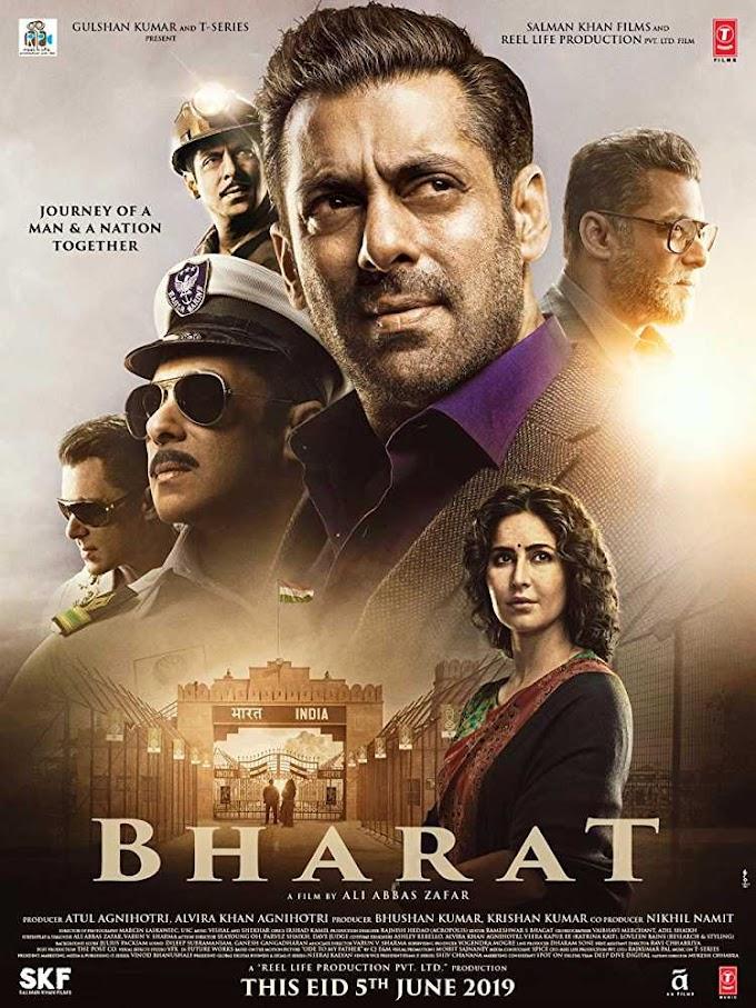 Bharat (2019) Hindi 720p   480p WEB-HDRip  (Original) 1.2 GB   450 MB  700MB Download