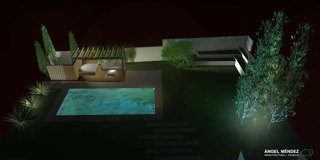 iluminación jardines, proyectos paisajismo, diseño jardines, arquitectura paisaje, tutoriales