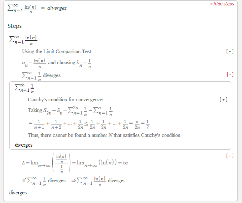 Symbolab Blog The Art of Convergence Tests