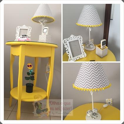mesa amarela
