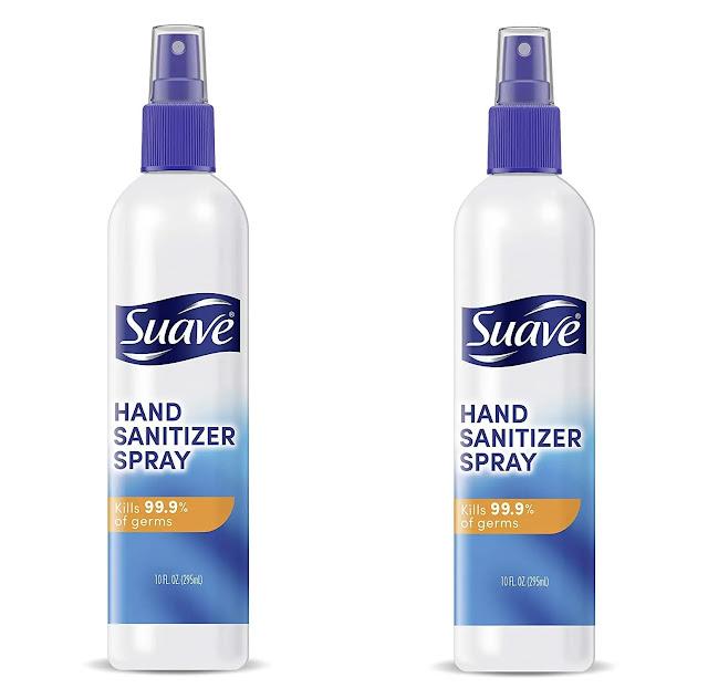 4- Suave Hand Sanitizer Spray