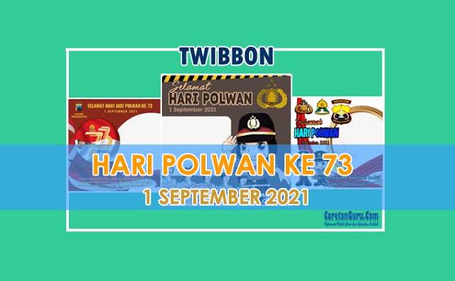 Twibbon Hari Polwan Ke 73 Tahun 2021