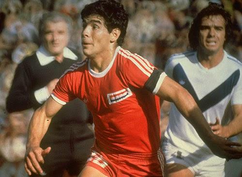 Maradona di Argentinos Juniors