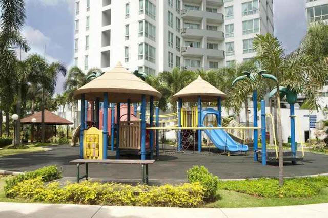 Taman bermain anak di apartemen yang ada di Jakarta