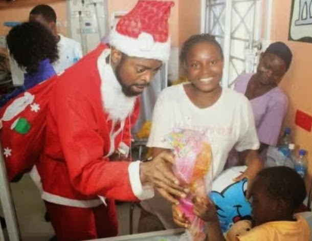 comedian basketmouth father christmas