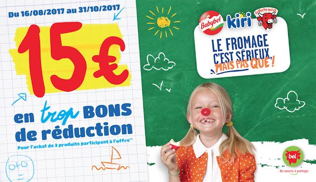15 euros de réduction fromages
