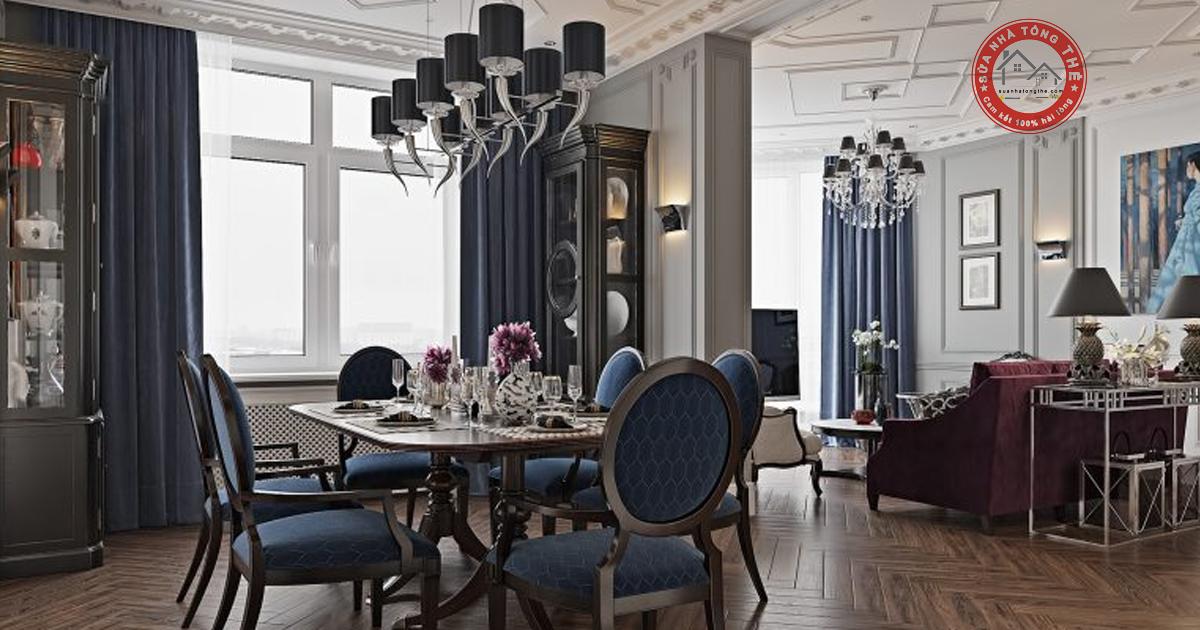 Phong cách thiết kế nội thất Cổ Điển (Classic Style)