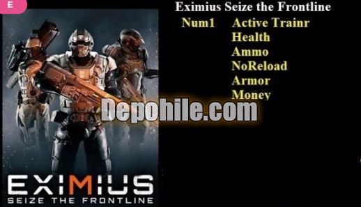 Eximius Seize the Frontline PC Para, Can Trainer Hile İndir 2021