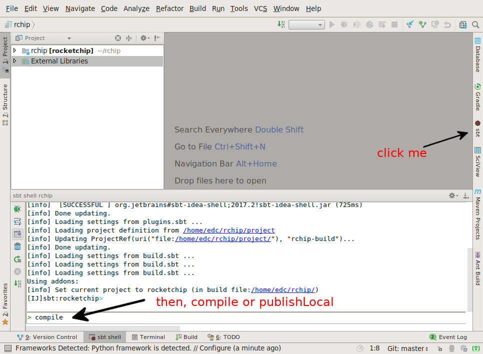 Edmond Cote's Blog: Using IntelliJ as RocketChip IDE