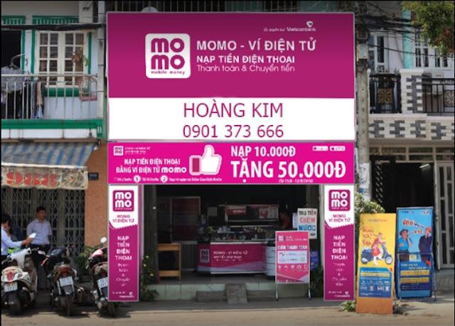 Cửa hàng nhượng quyền MoMo - MoMo Hoàng Kim