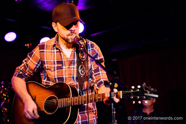 Justin Rutledge at The Horseshoe Tavern 70th Anniversary Party at The Legendary Horseshoe Tavern on December 5, 2017 Photo by John at One In Ten Words oneintenwords.com toronto indie alternative live music blog concert photography pictures photos