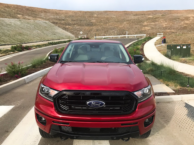 Front view of 2020 Ford Ranger Supercrew 4X4 Lariat