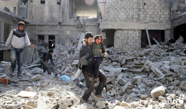 قصف-الغوطة