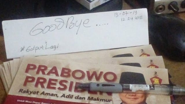 Pendukung yang Kecewa: Goodbye Pak Prabowo, You and Me End! Unfollow, Sorry!