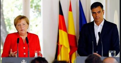 اسبانيا تختار التصعيد و ألمانيا تدخل على الخط و تدعمها بآلاف الجنود والشرطة