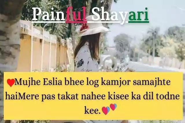 Top Painful Shayari | 2 Line Painful Shayari | Best Dard Shayari In Hindi.