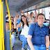Prefeitura de Sanharó entrega quatro novos ônibus escolares