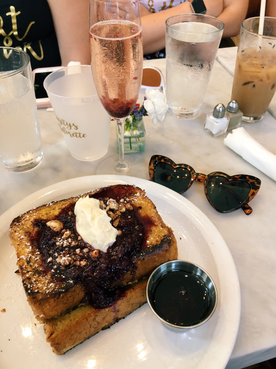 Brunch at the Collins Quarter