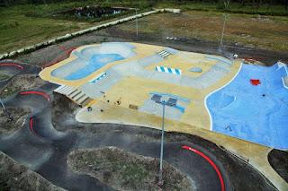 skatepark lacanau collège