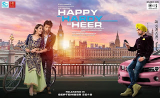Happy Hardy And Heer First Look Poster