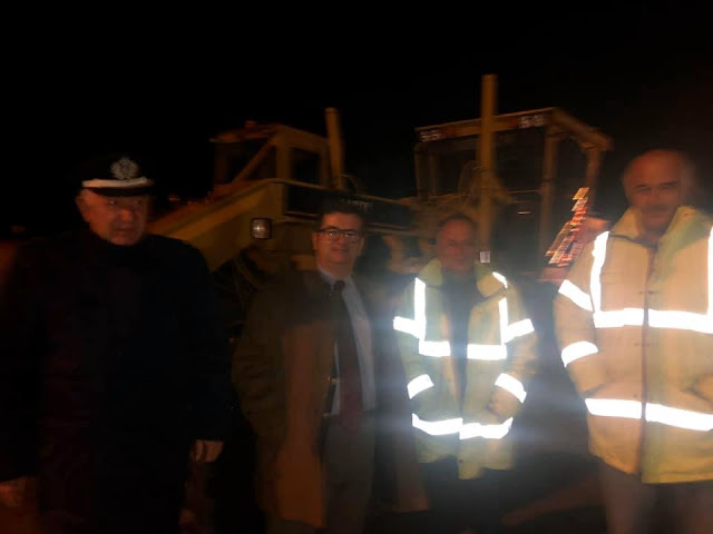 """Αργολίδα: Ολονύχτιο """"καραούλι"""" στα Δερβενάκια για να μην κλείσει η Εθνική οδός"""