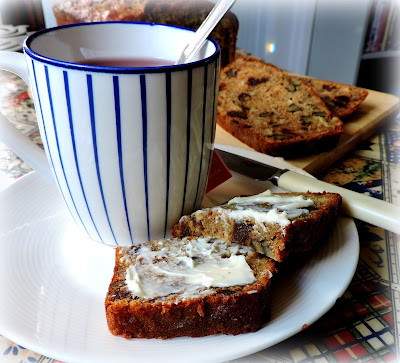 Banana, Rum, Date and Walnut Tea Loaf