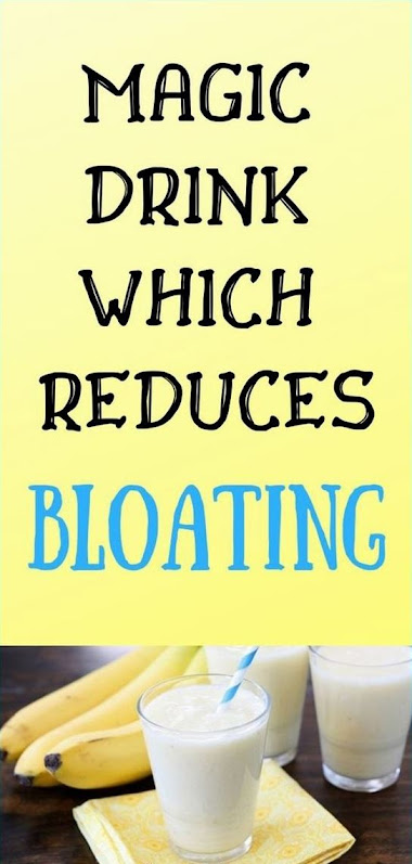 Magic Drink Which Reduces Bloating