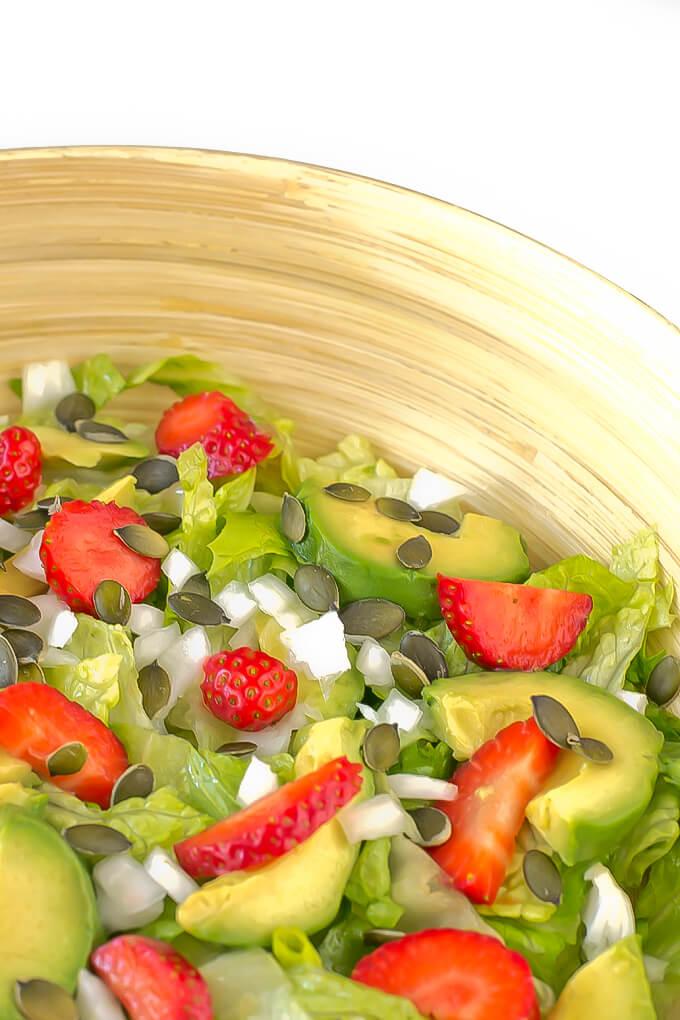 Spring salad | danceofstoves.com #salad