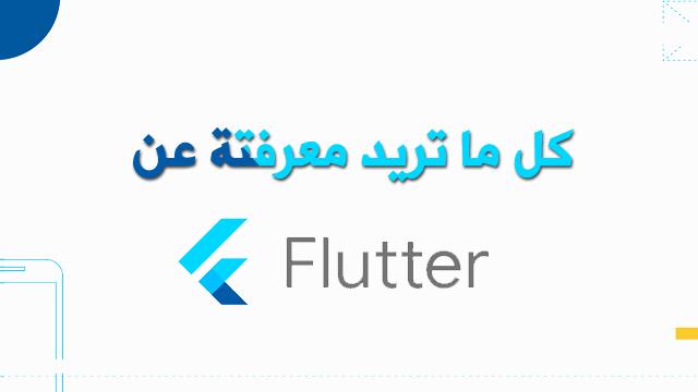 معلومات عن flutter وماهو الجديد في فلاتر وهل سيكون هو المستقبل ام لا ؟