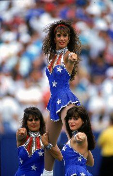 Style Crush Vintage Nfl Cheerleaders Fitzroy Boutique