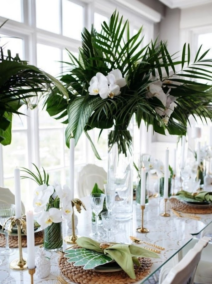 Flower Arrangement and Components Used