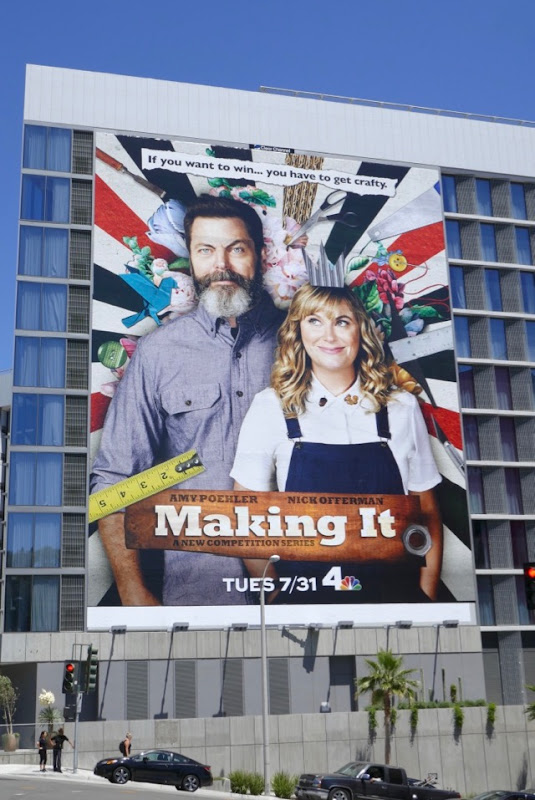 Making It series premiere billboard