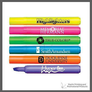 Pink Promotional Highlighters