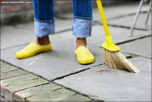 limpeza do piso