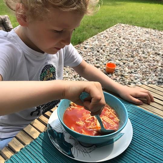 Zupa pomidorowa z koncentratu i passaty