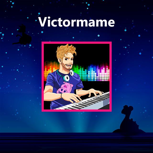 Imagen con el logotipo de Victormame