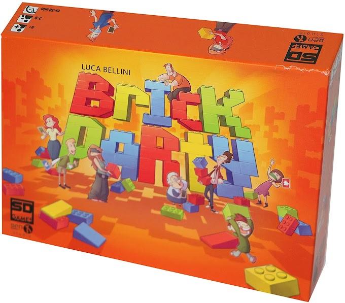 El entretenimiento esta asegurado con el juego de mesa Brick Party.