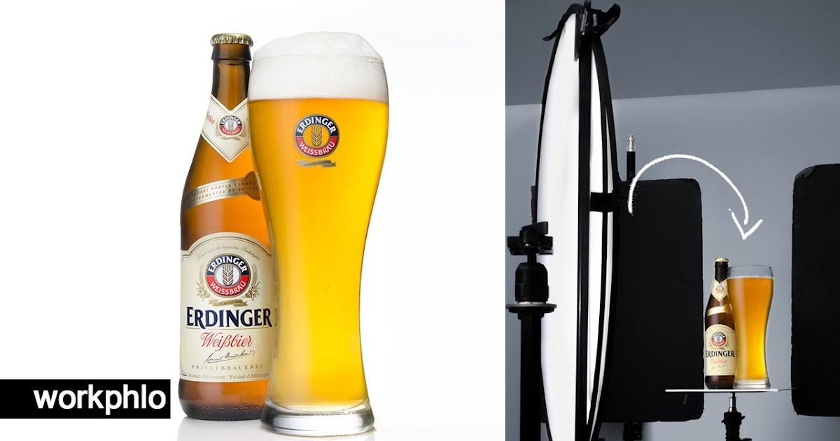 How to Photograph Beer & Retouch in Photoshop