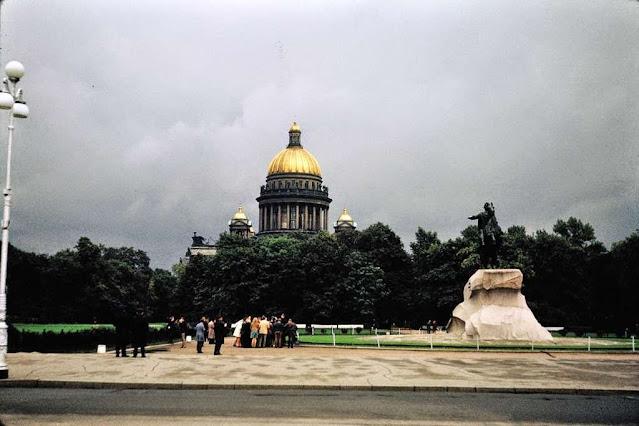 1968. Leningrad, USSR (St. Petersburg, Russia)