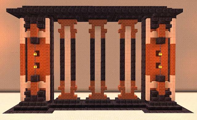 Cool Minecraft Wall Designs