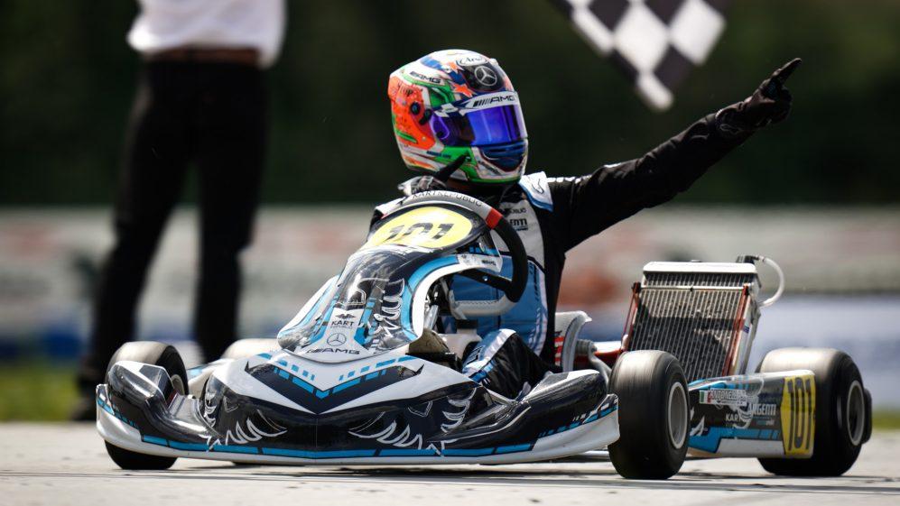 O piloto chinês continuará a correr nas classes OK Junior em várias séries este ano pela Argenti Motorsport.