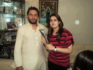 Shahid Afridi's Wife Nadia Afridi