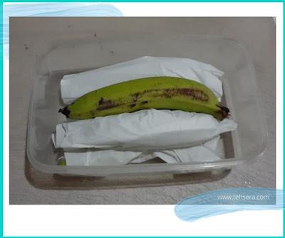 cara menyimpan buah pisang