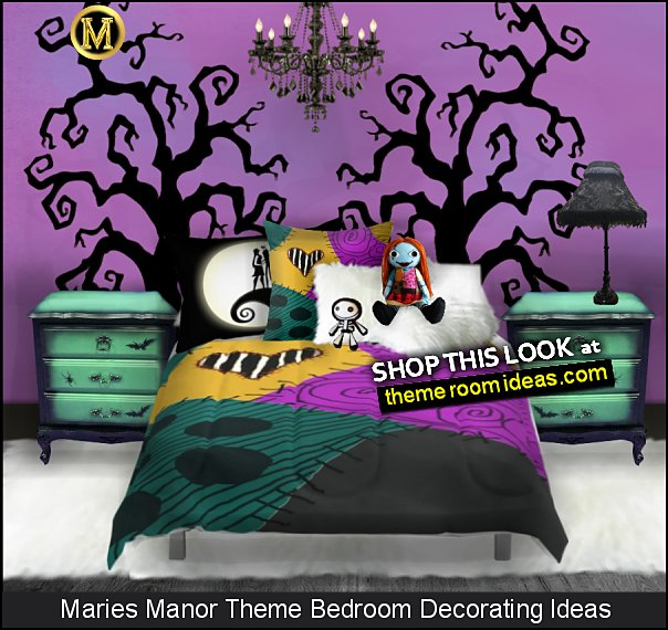nightmare before christmas sally bedroom decor jack skellington decorating ideas  Sally Nightmare Before Christmas Comforters